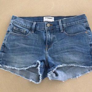 FRAME jean shorts